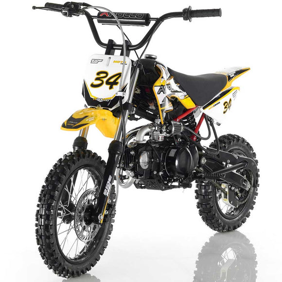 DB-34 110cc SEMI-AUTO Dirt Bike
