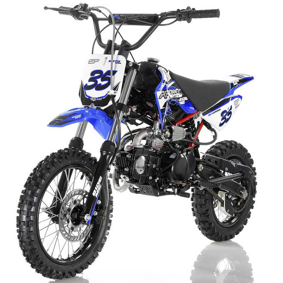 DB-35 125cc Mid-Size MANUAL 4-SPEED Dirt Bike