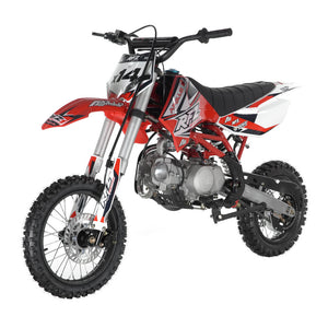 DB-X14 125cc SEMI-AUTO 4-SPEED Dirt Bike