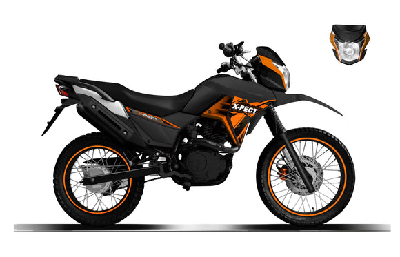 Lifan 2020 X-PECT 200cc EFI 5-Speed Dual Sport Bike 72  HR SALE
