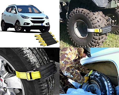 Trac Grabber Snow Mud And Sand Tire Traction Device For Cars And