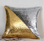 Two-Color Sequins Pillow Cover DIY Cushion Cover Decorative Cushions For Sofa