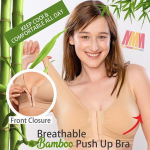 NEW ARRIVAL: Front Closure Original Breathable Bamboo Bra