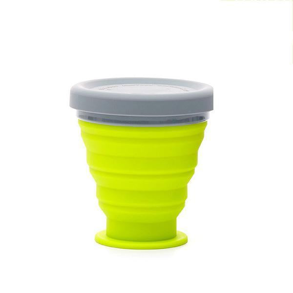 Collapsible Camping Bowl-Outdoors & Sports-bsubuy.com-Green-S-