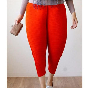 Cooool Fried chicken leg pants-Dress-bsubuy.com-S-Red-