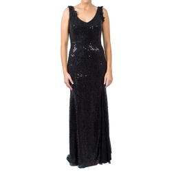 Shimmy Sequin Gown