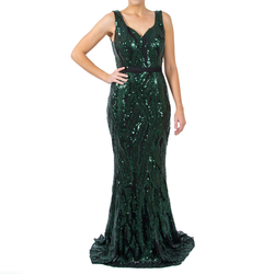 Karmen Sequin Gown
