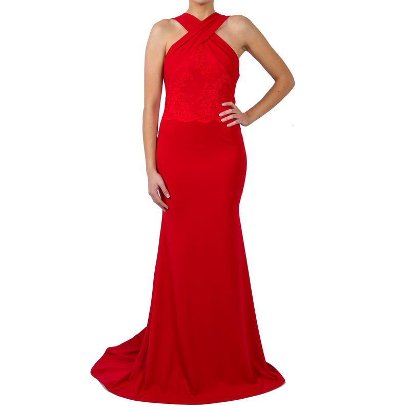 Alicia Red Gown