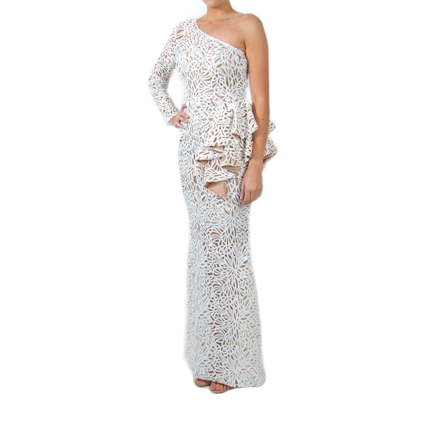 White Fortress Gown