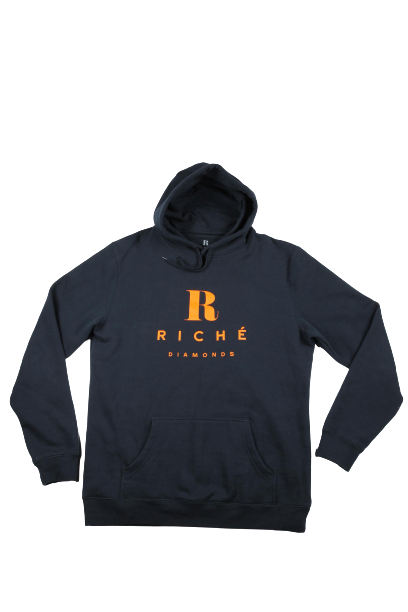Blue & Orange Riché Hoodie