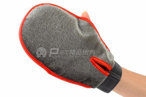 Image of Cat Pet Dog fur Grooming Glove