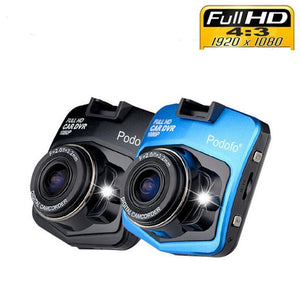 Mini Car DVR Dashcam Full HD 1080P w Night Vision
