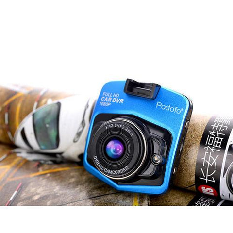 Image of Mini Car DVR Dashcam Full HD 1080P w Night Vision