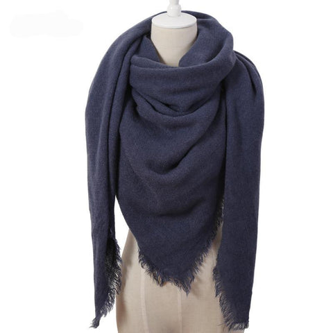 Image of Oversize Cashmere Scarf Blanket