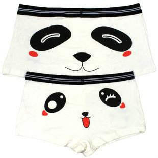 Personality High™ Sexy Cute Panda Couples Underpants 2PCS