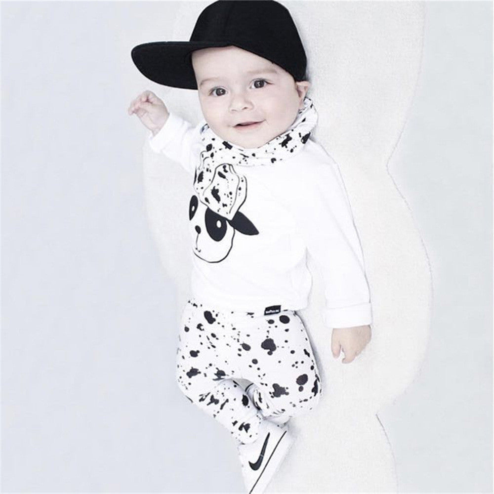 Long Sleeved Panda Set