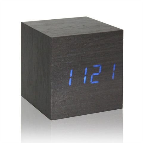 Image of Wooden Voice Control Alarm