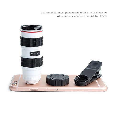 Image of Universal Pone Camera Lens 8X + HD