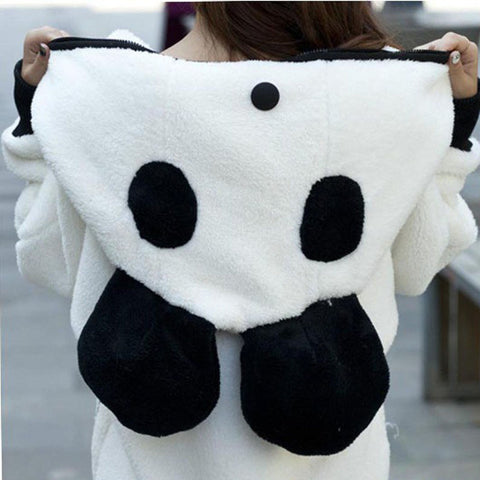 Cute Ear™ Panda Winter Hoodie Coat