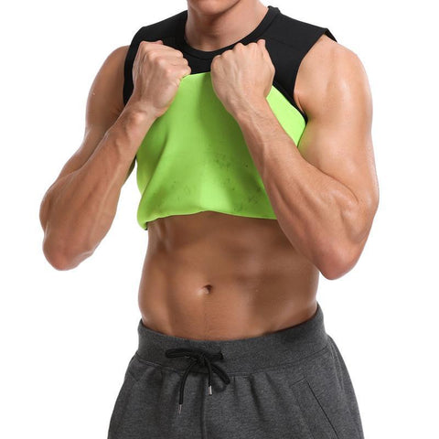 Mens Body Sauna Thermal Tanktop