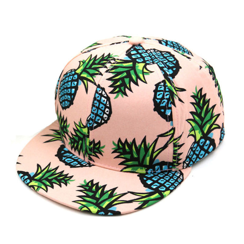 Pineapple Snapback BBoy Cap Adjustable Unisex