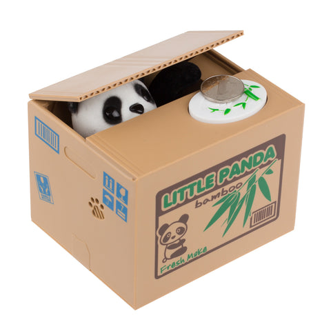 Image of Stealing Panda Automatic Stealing Coin Bank