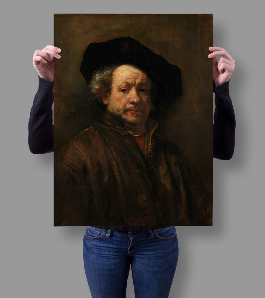 Self Portrait by Rembrandt 18x24 Poster