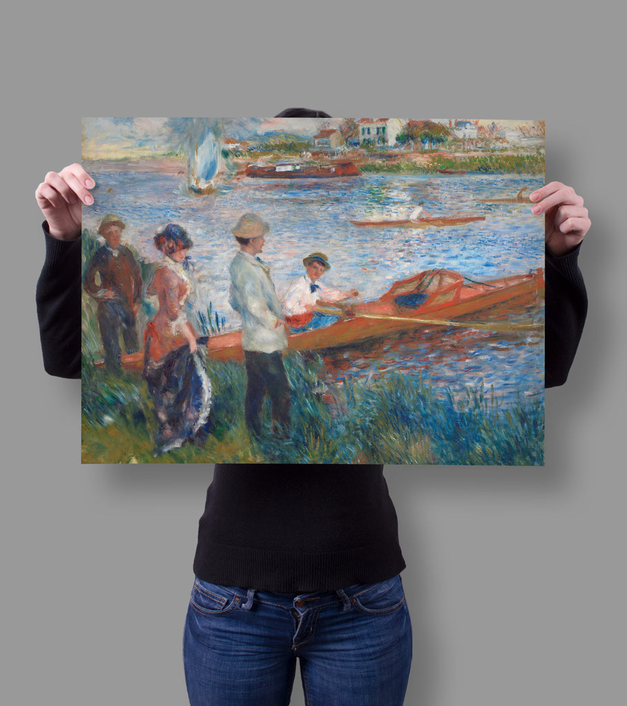 Oarsmen at Chatou by Auguste Renoir 18x24 Poster
