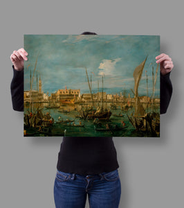 Venice from the Bacino di San Marco Francesco Guardi 18x24 Poster