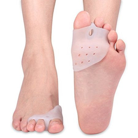 Gel Toe Separator Bunion Relief w Forefoot Cushion