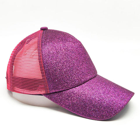 Image of Mesh Glitter Trucker Hat