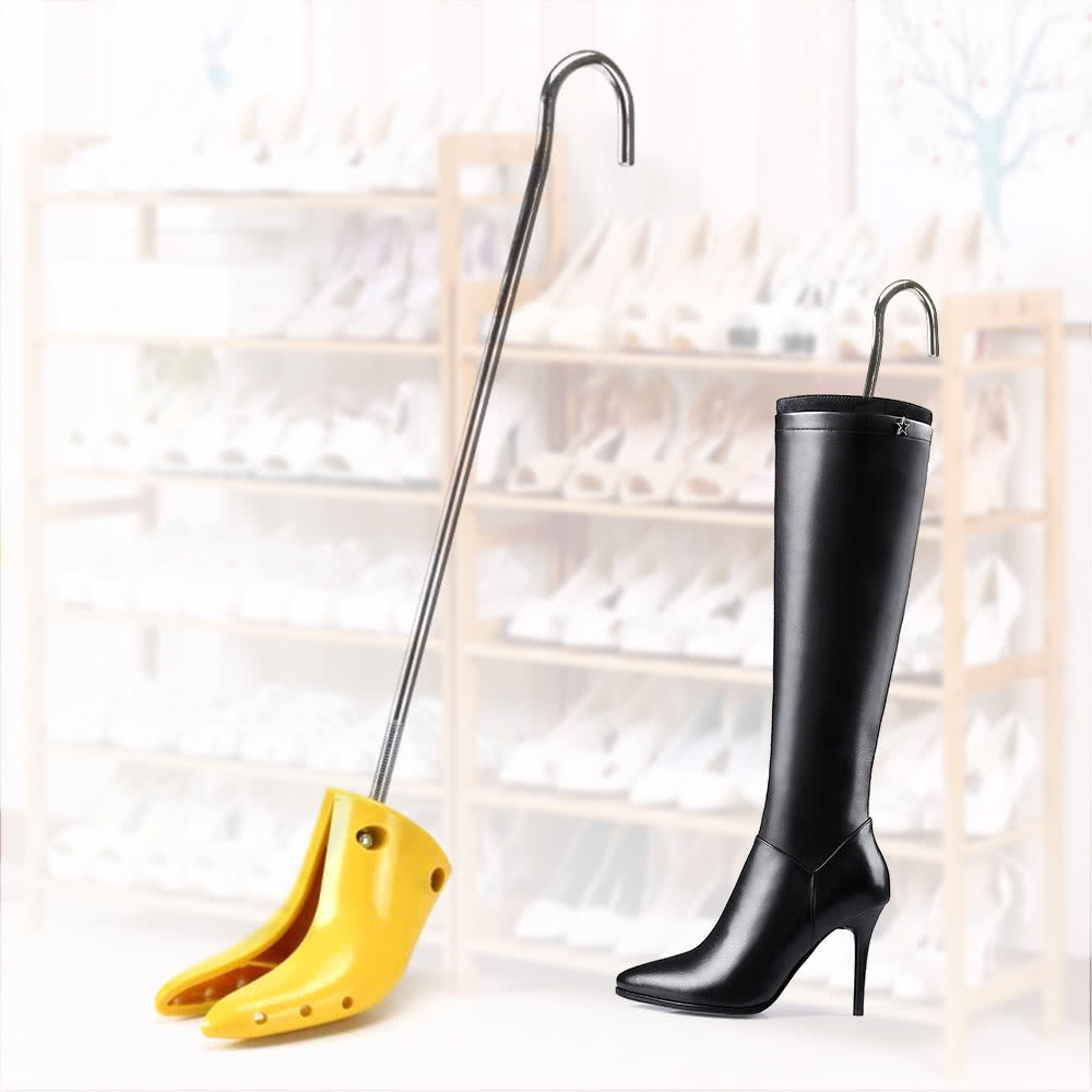 3050fa9199a6 Professional Adjutable 2-way Women High Heel Boot Stretcher Shoe Tree Shoes  Shaper Long Boots ...