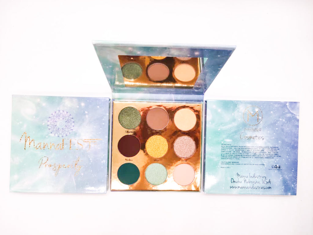 MannaFest Prosperity Eyeshadow Palette - Manna Industries