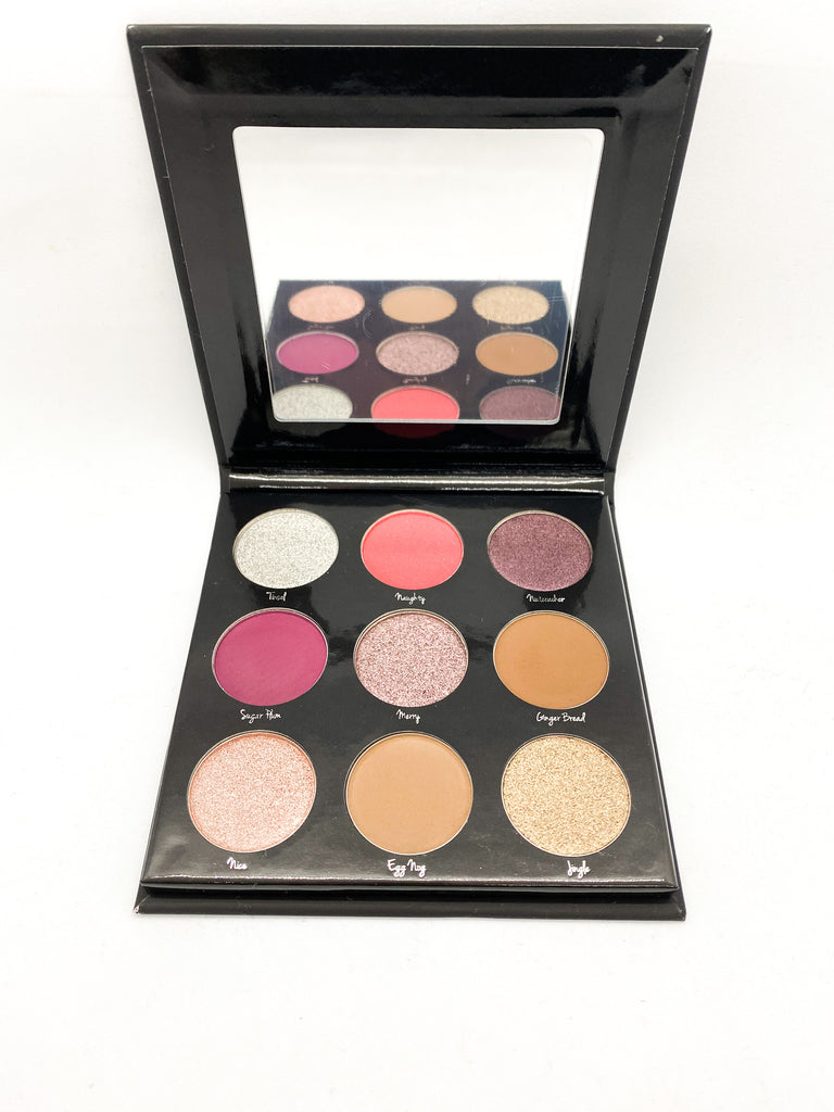 Holiday Eyeshadow Palette - Manna Hair, Hair Extensions