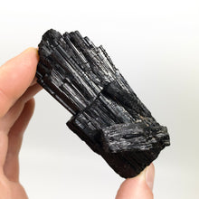 "Load image into Gallery viewer, Terminated Schorl ""Black"" Tourmaline"