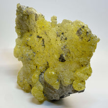 Load image into Gallery viewer, AAA Lemon Yellow Brucite, Cabinet Specimen. - The Crystal Connoisseurs