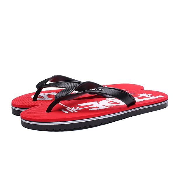 Beach Rubber Summer Flat Heel Slipper