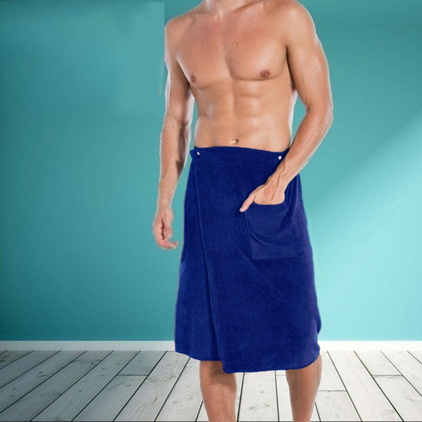 Absorbent Swim Beach Towel Men's Soft Comfortable Bathtub Skirt