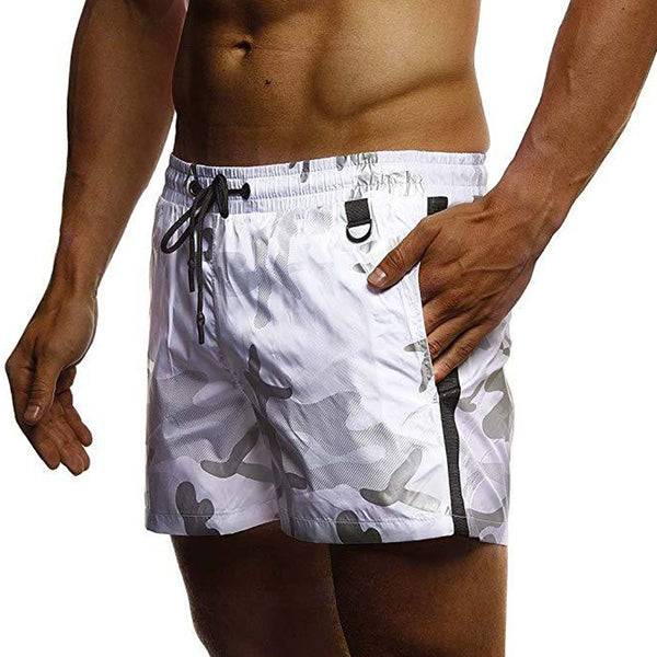 Men's Camouflage Printed Shorts Sports Quick-drying Beach Shorts