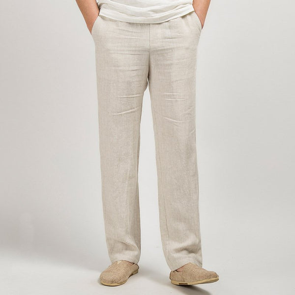 Linen Sports Men Clothes