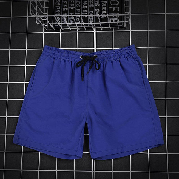 Casual Knee-Length Shorts Men's Ten Colors Quick-drying Beach Shorts
