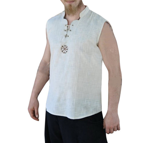 Men's Casual Solid Color Strapless Sleeveless Vests