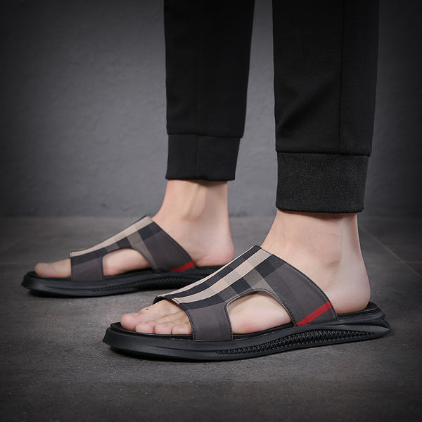 Men's Fashion Slippers Summer Beach Sandals
