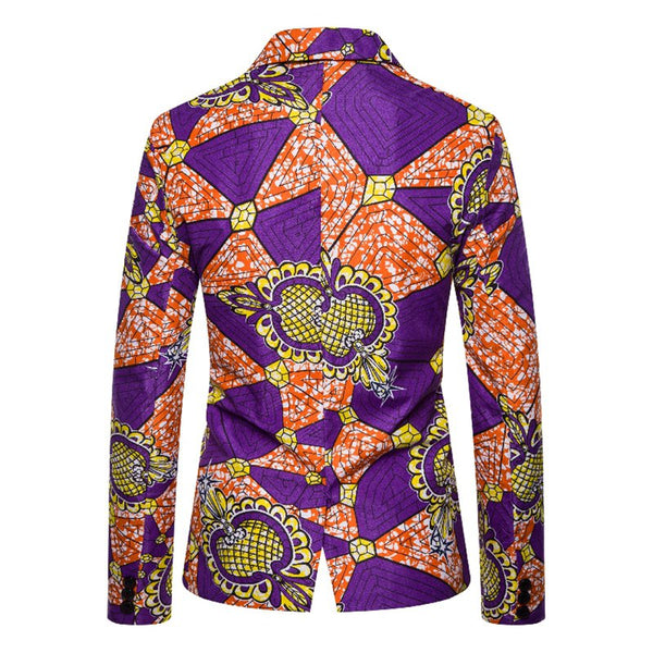 As Picture Cotton-Blend Abstract Cocktail Outerwear
