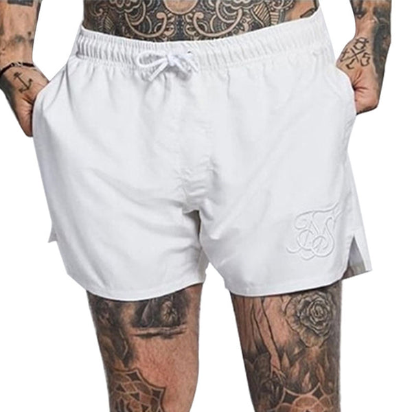 Men's Casual Sports Shorts Quick-drying Loose Fashion Embroidery Shorts
