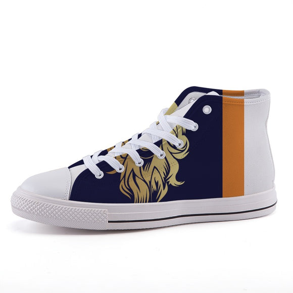 Unmask High-top fashion canvas shoes