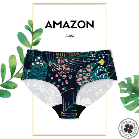 Amazon - Bikini Brief - Clubhouse Vivaldi