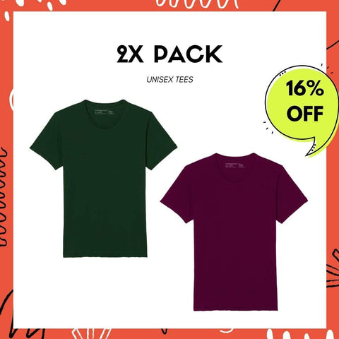 2X Pack - Soft Every Day Tee - Unisex - Clubhouse Vivaldi