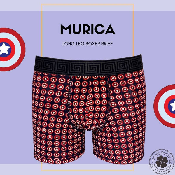 Murica- Boxer Brief - Clubhouse Vivaldi