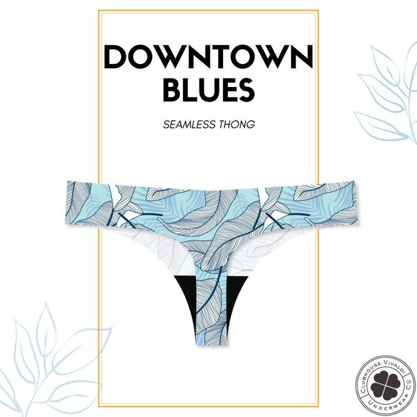 Blue Downtown - Thong - Clubhouse Vivaldi
